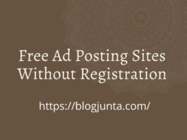 Free Classified Sites Without Registration