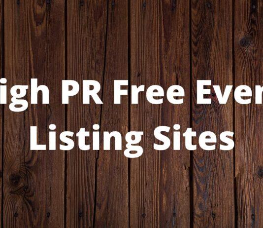 Event Listing Sites
