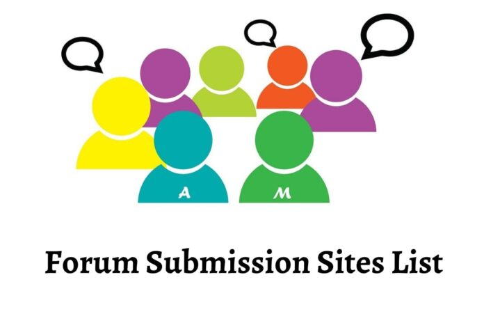Forum Submission Sites