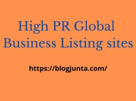 Business Listing sites