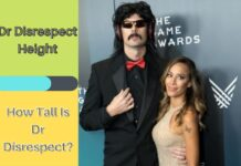 Dr Disrespect Height