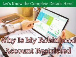 robinhood account restricted