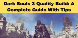 Dark Souls 3 Quality Build