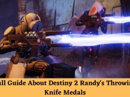 randy's throwing knife medals